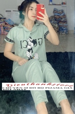 Đồ Bộ Pijama Kate Lụa Mẫu Chữ Siêu Xinh Từ 43-58kg ĐƯỢC CHỌN MẪU Vải kate lụamịn đẹp, giặt không xù, không phai màu, thoáng mát dễ chịu