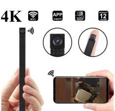 Camera wifi siêu nhỏ V100-HD4K nguy trang mini ghi âm kết nối internet, chất lượng có hộp nhựa tản nhiệt chống nóng+ 01 pin dự phòng cao cấp BH12 T