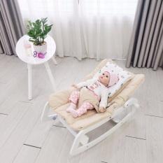 Ghế rocking baby chair thân gỗ bập bênh, cam kết sản phẩm đúng mô tả, chất lượng đảm bảo an toàn đến sức khỏe người sử dụng
