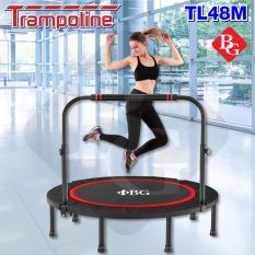 BG – Sàn nhún cao cấp Trampoline 48 inch dành cho mọi lứa tuổi Mẫu mới 2019(120x120cm)