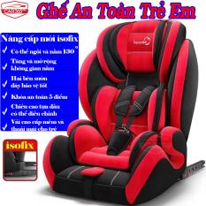 Ghế ngồi an toàn trên ô tô cho bé CAR365 chuẩn ISOFIX, có thể điều chỉnh góc 130 độ, tựa đầu có thể nâng hạ, dây đai chắc chắn, chất liệu thoáng khí, khung thép siêu bền, đai an toàn cực chắc chắn, BẢO HÀNH 12 THÁNG – CAR47