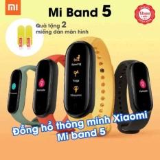 Vòng đeo tay thông minh Smartband XIAOMI Mi Band 5 / Mi Band 4 – Tặng kèm 2 miếng dán màn hình