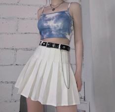 Áo nữ, áo crotop nữ hai dây thời trang cá tính [ M. 2 dây loang ]