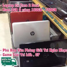 Laptop Core i2 Ram 3GB 160GB HDD dùng văn phòng Office Tập gõ Phím Học tập nghe nhạc