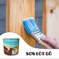 Sơn gỗ – sơn gỗ hệ nước,sơn lót làm phẳng, lấp tim gỗ SANDING SEALER,sơn gỗ gốc nước,sơn gỗ an toàn,sơn gỗ không độc hại,sơn gỗ đồ chơi trẻ em,water based wood coating