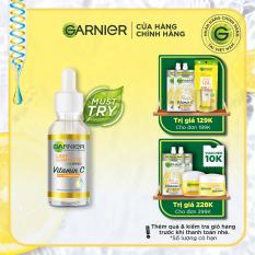 Tinh chất serum sáng da, giảm thâm mụn Vitamin C chiết xuất Yuzu tự nhiên – Garnier Light Complete 30x Booster Serum 30ml