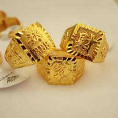 Nhẫn nam nhẫn chữ Phúc/Tài/Lộc phú qúy giàu sang