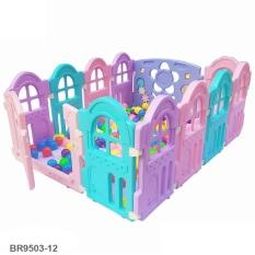 Quây bóng 10 cạnh BBT Global có đồ chơi cho bé BR9503-10 – đồ chơi trẻ em, quây banh, quây bóng, nhà bóng