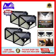 Đèn năng lượng mặt trời chế độ chống trộm thông minh solar SH – 100led – ntcll, trang bị công nghệ cảm ứng ánh sáng và cảm biến chuyển động