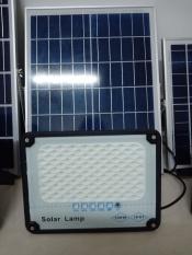 Đèn Led Năng Lượng Mặt Trời Solar Lamp 100W- Mẫu Mới 2020, Có Đèn Báo Pin, Chống Nước Ip67
