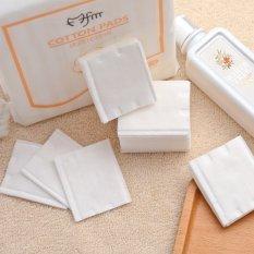 Gói 222 miếng bông tẩy trang 100% cotton mềm mại, chất lượng cao cấp