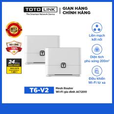 Mesh Router Wi-Fi gia đình AC1200 TOTOLINK – T6-V2