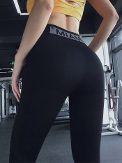 Quần Dài Tập Gym Yoga Nữ MIAMI Lưng Cao Chun Mông, Co Giãn 4 Chiều – Hi Sport