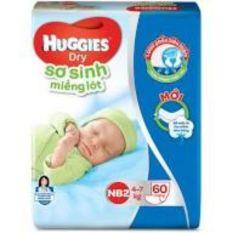 Miếng lót sơ sinh Huggies Dry Newborn 2 – 60 (60 miếng) – bao bì mới, cam kết hàng đúng mô tả, chất lượng đảm bảo an toàn đến sức khỏe người sử dụng, đa dạng mẫu mã