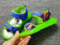 Giày Sandal Led Người Nhện Cho Bé Trai 1-6Tuổi
