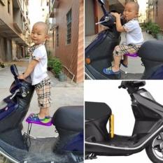 Ghế ngồi xe máy cho bé gấp gọn cho dòng xe máy xe số mặt ghế ngồi có vân chống trượt, tạo cho bé cảm giác thoải mái