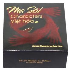 Bộ Bài Ma Sói Characters Việt Hoá, Chất Liệu An Toàn Bền Đẹp, Hình Ảnh Sắc Nét, Tính Giải Trí Cao