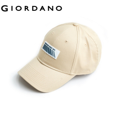 Giordano Men And Women Caps Metal G Buckle Adjustable Caps Breathable Pores Embroidery Letters Cool Caps Free Shipping 01200019