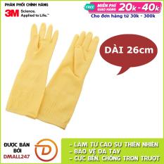 Găng tay cao su đa dụng rửa chén Scotch-Brite 3M GT-RC