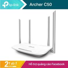 TP-Link Bộ phát wifi không dây (Thiết bị mạng) Chuẩn AC 1200Mbps Archer C50 – Hãng phân phối chính thức