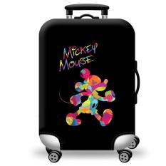 [Lấy mã giảm thêm 30%]Túi bọc bảo vệ vali -Áo vỏ bọc vali – Chuột Hoạt Hình H111 Size S M L XL HPValiOEM