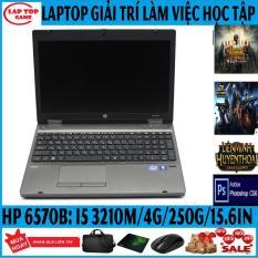 LAPTOP CHƠI FIFA 4, PUBG MOBI, PHOTOSHOP, HP Probook 6570 ( Core i5 3210M,Ram 4G, HDD 250G,Màn 15.6, Phím Số, Vỏ Nhôm) máy Nhập Khẩu