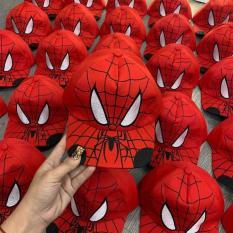 Nón hiphop siêu nhân nhện cho bé trai 3-10 tuổi