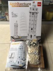 Bộ lắp ghép khổng lồ Architecture WORLD FAMOUS Tháp NGHIẾNG PlSA ,1580 CHI TIẾT,model:no.805-1