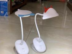 Đèn học, làm việc, đọc sách để bàn kiểu kẹp tặng kèm đế hàng xịn ( không kèm bóng ), Đèn LED đọc sách kẹp đầu Giường