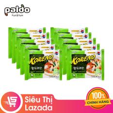 [Siêu thị Lazada] Combo 10 gói Mì KORENO Gà 100GR (10 gói x 100g) – hương vị đậm đà an toàn vệ sinh thực phẩm