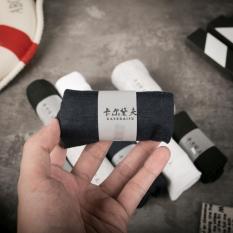 Combo 10 đôi tất nam cổ ngắn cổ viền công nghệ nano khử mùi