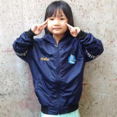 Áo khoác dù thời trang GOKING cho bé gái bé trai, áo khoác gió trẻ em cao cấp (Hình thật)