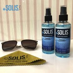 02 Chai nước rửa kính chuyên dụng Solis 100ml