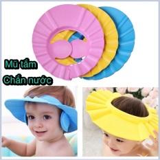 Mũ tắm gội đầu cho bé siêu nhẹ không gây khó chịu bảo vệ mặt tai mũi và có nhiều mức thay đổi theo vòng đầu bé