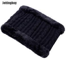 Bộ Khăn Quàng Cổ Mũ Len Trùm Đầu Jettingbuy, Mũ Trượt Tuyết Balaclava Tuyết Ấm Áp Cho Trẻ Em Nam Nữ