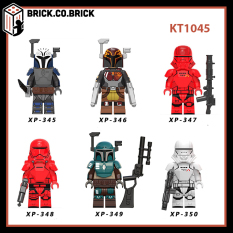 KT1045 – Đồ chơi lắp ráp minifigures và non lego Chiến tranh giữa các vì sao -Stars war – Star trekk – Storm Trooper