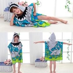 Khăn choàng tắm có mũ cho bé trai bé gái