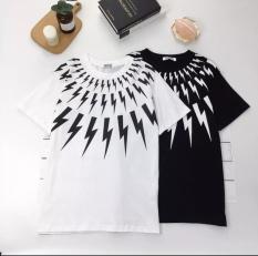 Áo Cặp – Áo thun nam nữ in hình TS độc đẹp, vải dày mịn mát ( đen, trắng )