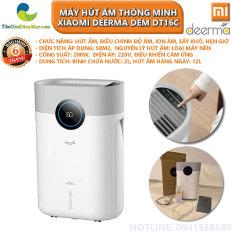 Máy hút ẩm thông minh Xiaomi Deerma DEM DT16C chức năng điều chỉnh độ ẩm, ion âm, sấy khô – Bảo hành 6 tháng