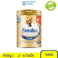 [GIẢM 40K ĐƠN 499K]Sữa bột Similac Eye-Q 4 HMO 900g Gold Label trẻ 2 tuổi trở lên tăng cường đề kháng giúp phát triển trí não ưu việt