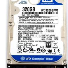 Ổ Cứng HDD Laptop 320GB – Bảo hành 12 tháng