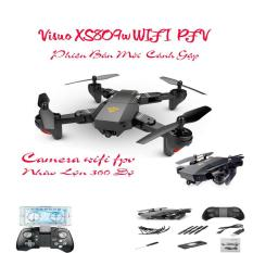 Máy Bay Cánh Gấp Bỏ Túi Điều Khiển Từ Xa, Camera Hd Truyền Hình Trực Tiếp, Máy bay điều khiển từ xa, Máy bay Drone Visuo XS809W 720HD Đồ Chơi Công Nghệ 4.0, Máy Bay Điều Khiển Từ Xa Có Camera Mini,Động cơ khỏe khoắn – Chịu va chạm cực tốt tại LXR
