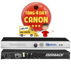 Chống Hú Micro Feedback Bosa 5.0 bảo hành 24 tháng tặng 4 dây canon miễn phí vận chuyển