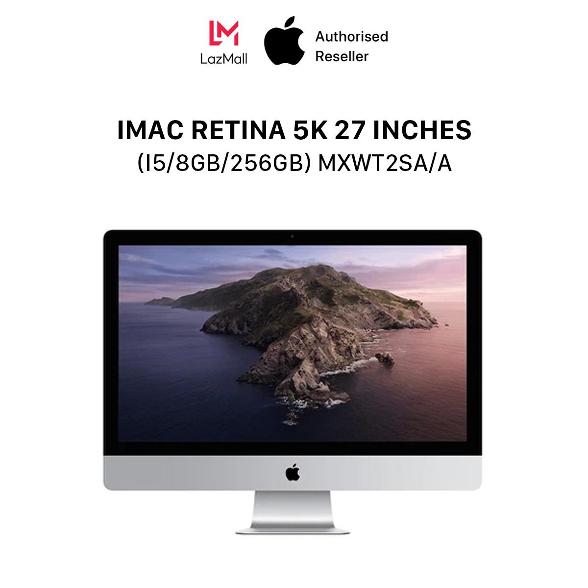 iMac Retina 5K (5120×2880) 27 inches (i5 6-core / 3.1GHz Turbo Boost up to 4.5GHz / 8GB / 256GB) l MXWT2SA/A l HÀNG CHÍNH HÃNG