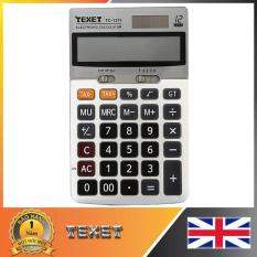 Máy tính bỏ túi Texet TC-1211 (Trắng)