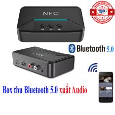 Bộ thu nhận âm thanh Bluetooth 5.0 NFC BT200 Music Audio Receiver biến Loa, Amply thường thành có bluetooth chuyên nghiệp .