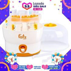 Máy tiệt trùng bình sữa 6 bình BPA Fatzbaby FB4019SL