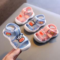 Giày/ Dép tập đi cao cấp Bò Sữa cho bé, đế êm quai mềm chống trơn trượt