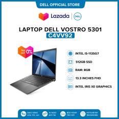 Laptop Dell Vostro 5301 13.3 inches FHD (Intel / i5-1135G7 / 8GB / 512GB SSD / Win 10 Home SL) l Gray l C4VV92 l HÀNG CHÍNH HÃNG