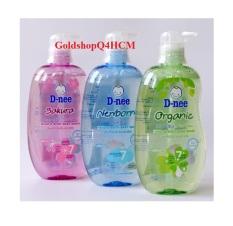 HCM, HSD 2023 – Tắm gội Dnee Pure Organic 380ml Thái Lan